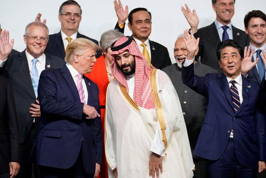 حديث بين الأمير محمد بن سلمان والرئيس الأمريكى دونالد ترامب