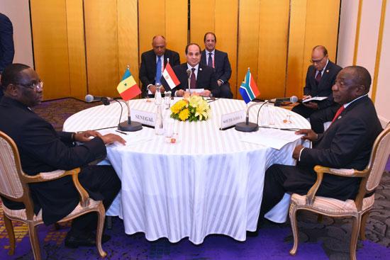الرئيس عبد الفتاح السيسى فى قمة العشرين (2)