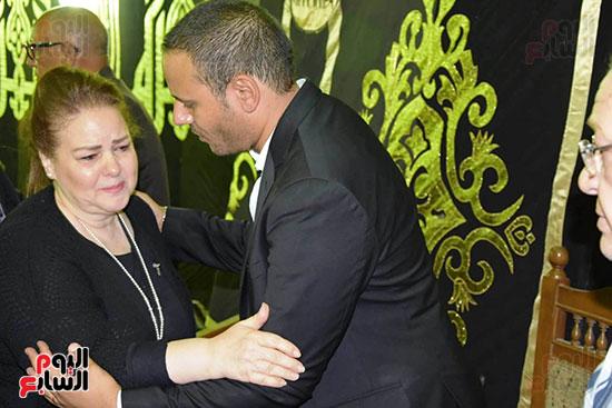 عزاء المخرج محمد النجار (37)