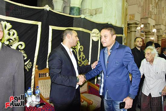 عزاء المخرج محمد النجار (34)