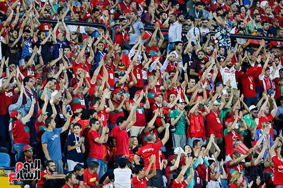 جماهير المغرب تشجع فريقها