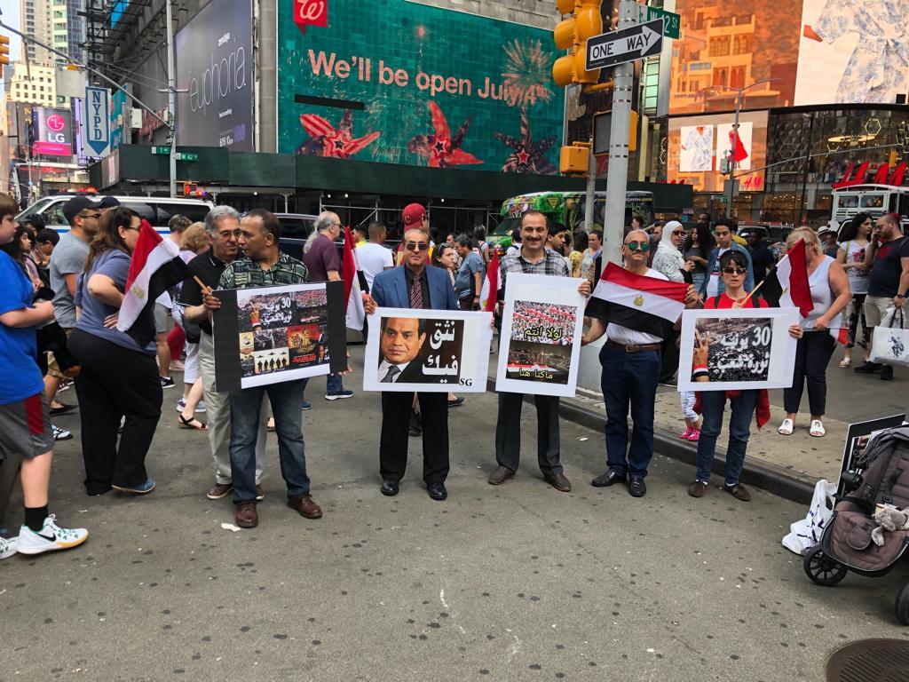 المصريون فى نيويورك