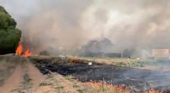 حرائق الغابات فى فرنسا
