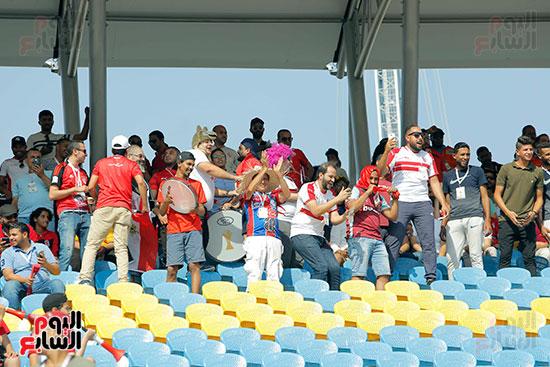 جماهير الزمالك تؤازر تونس