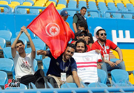 جماهير مصر تدعم تونس