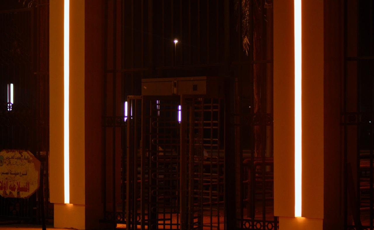 جانب من البوابات