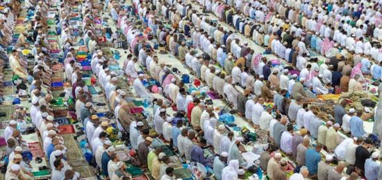 صلاة التراويح فى المسجد الحرام