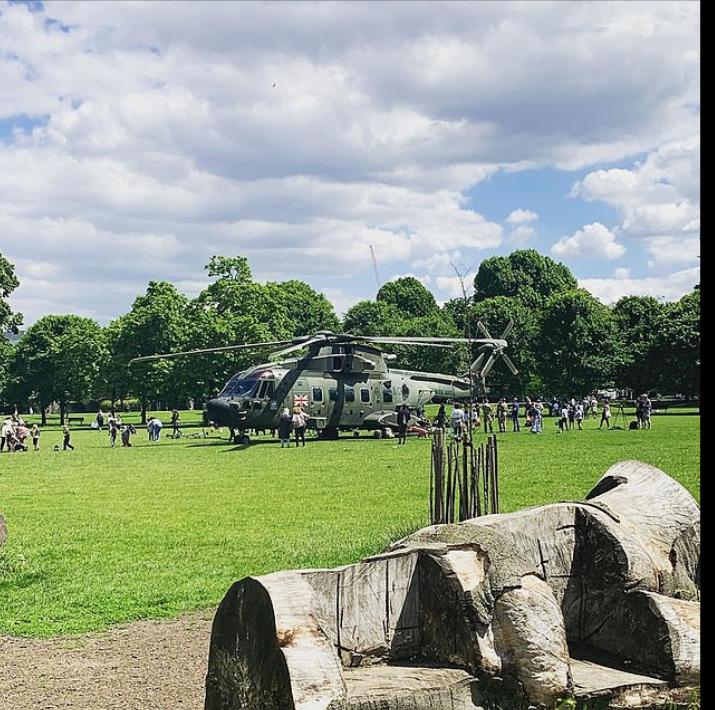 طائرة هليكوبتر عسكرية