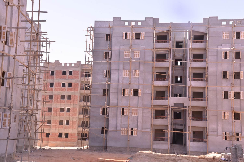 عمارات جاري الانتهاء منها بمدينة ناصر