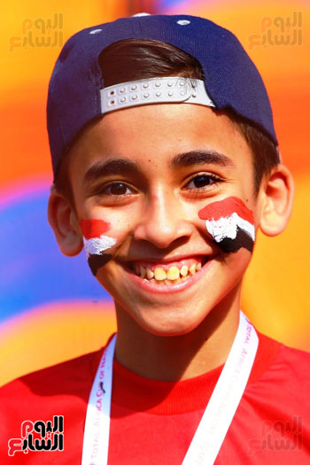 مشجعى منتخب مصر أمام أوغندا (25)