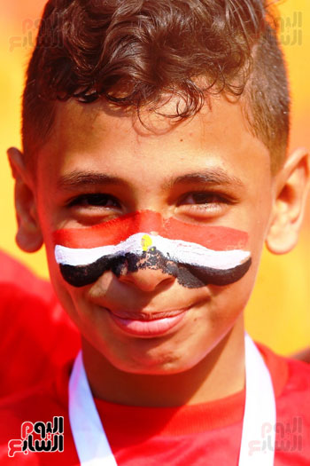 مشجعى منتخب مصر أمام أوغندا (28)