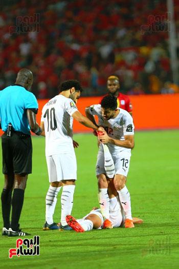 منتخب مصر يتأهل بالعلامة الكاملة إلى دور الـ16 لأمم أفريقيا  (4)