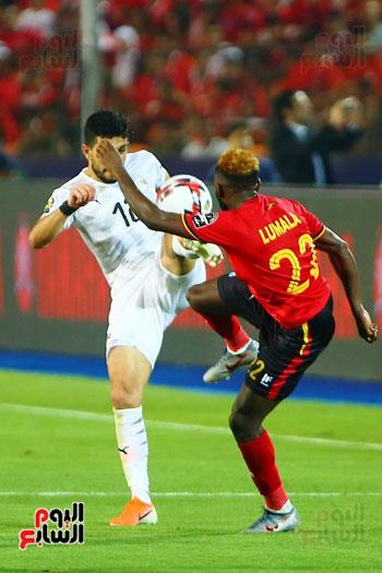 منتخب مصر يتأهل بالعلامة الكاملة إلى دور الـ16 لأمم أفريقيا  (21)