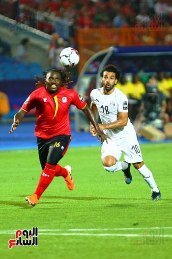 منتخب مصر يتأهل بالعلامة الكاملة إلى دور الـ16 لأمم أفريقيا  (12)