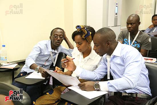 الأكاديمية الوطنية للشباب تستقبل أول دفعة لبرنامج تأهيل الأفارقة (14)