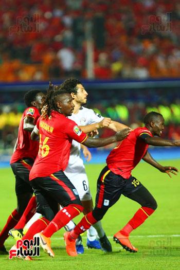 منتخب مصر يتأهل بالعلامة الكاملة إلى دور الـ16 لأمم أفريقيا  (7)