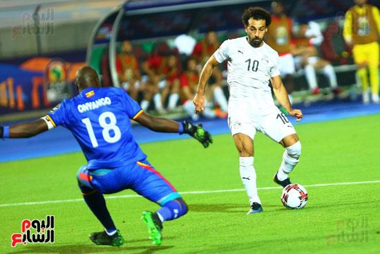 منتخب مصر يتأهل بالعلامة الكاملة إلى دور الـ16 لأمم أفريقيا  (9)