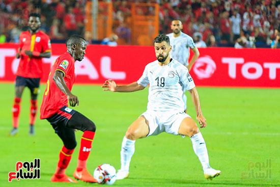 مباراة مصر وأوغندا (12)