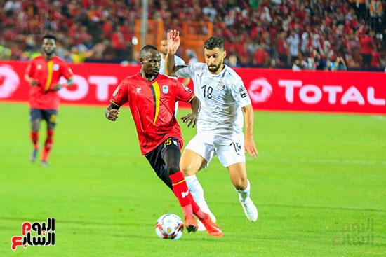 مباراة مصر وأوغندا (5)