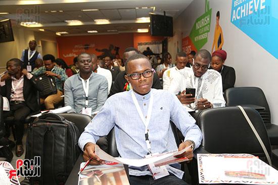 الأكاديمية الوطنية للشباب تستقبل أول دفعة لبرنامج تأهيل الأفارقة (11)