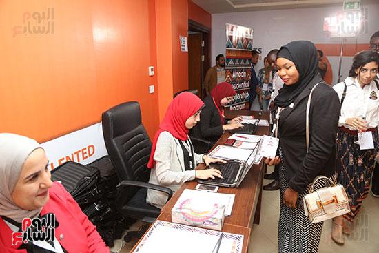 الأكاديمية الوطنية للشباب تستقبل أول دفعة لبرنامج تأهيل الأفارقة (1)