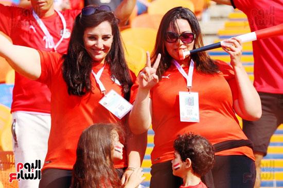 مشجعى منتخب مصر أمام أوغندا (31)