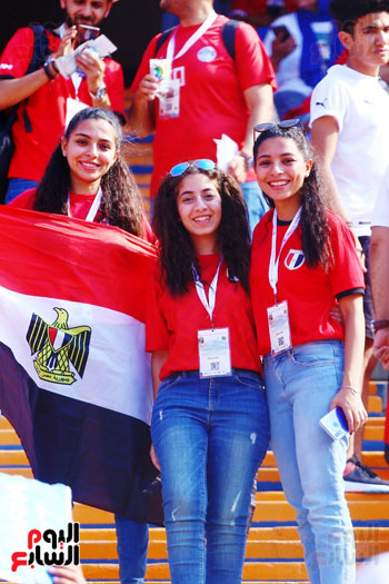 مشجعى منتخب مصر أمام أوغندا (17)