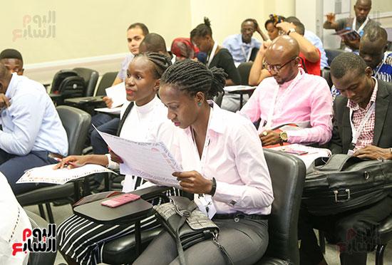 الأكاديمية الوطنية للشباب تستقبل أول دفعة لبرنامج تأهيل الأفارقة (20)