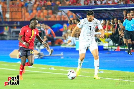 مباراة مصر وأوغندا (43)