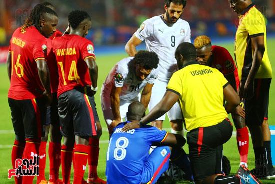 منتخب مصر يتأهل بالعلامة الكاملة إلى دور الـ16 لأمم أفريقيا  (16)