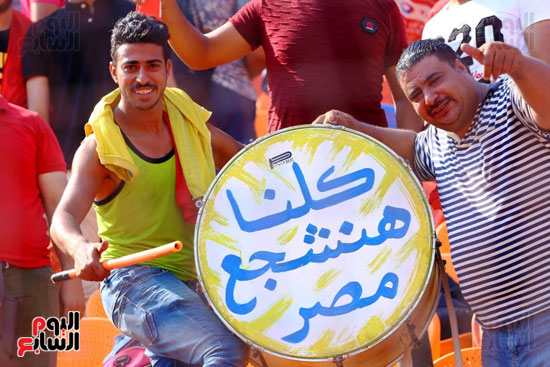 مشجعى منتخب مصر أمام أوغندا (48)