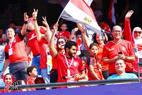 مشجعى منتخب مصر أمام أوغندا (21)