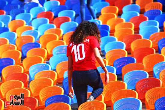 مشجعى منتخب مصر أمام أوغندا (6)