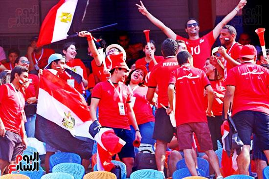 مشجعى منتخب مصر أمام أوغندا (15)