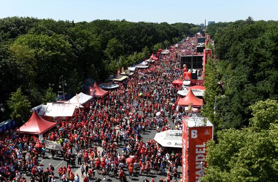 مسيرة لعمال المعادن فى ألمانيا