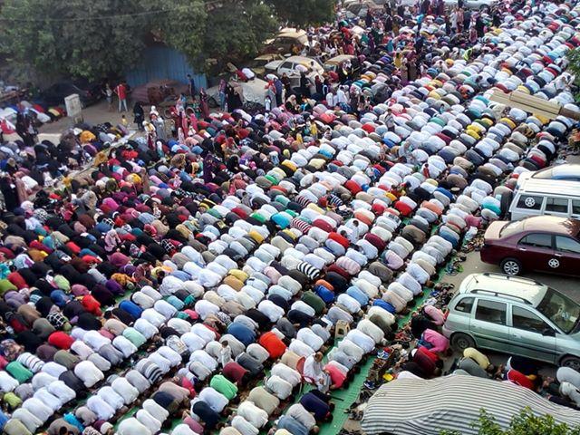 صلاة العيد فى المطرية
