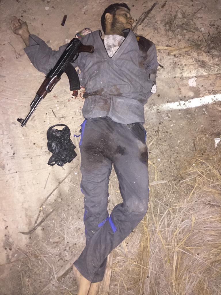 مقتل المتهمين باستهداف ضابط شرطة فى الشرقية  (5)