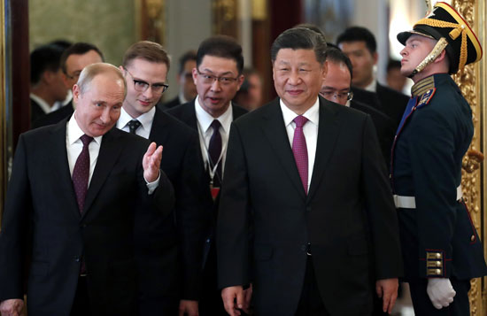 فلاديمير بوتين وشى جين بينج