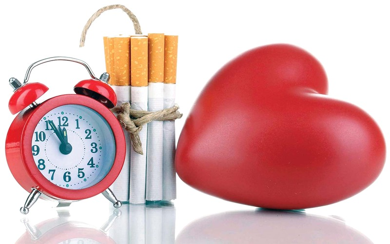 انخفاض الاعداد بسبب انخفاض عدد المدخنين فى بريطانيا