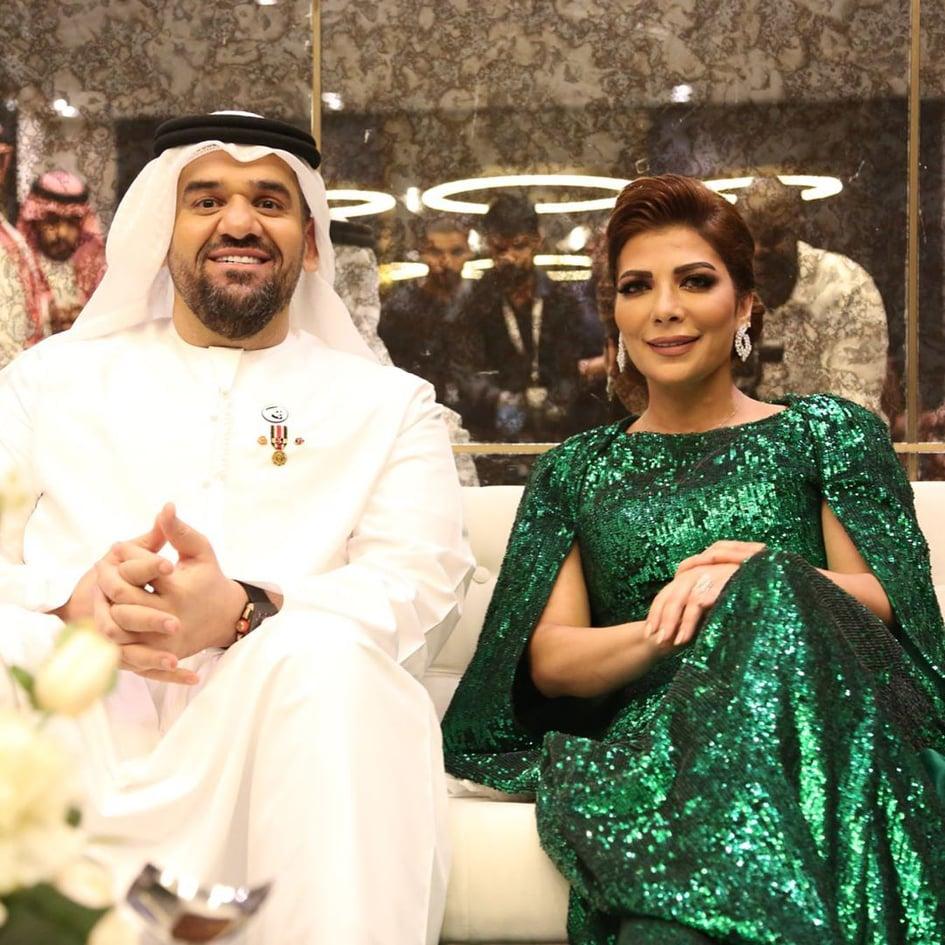 حسين الجسمى فى حفل أبو ظبى  (2)