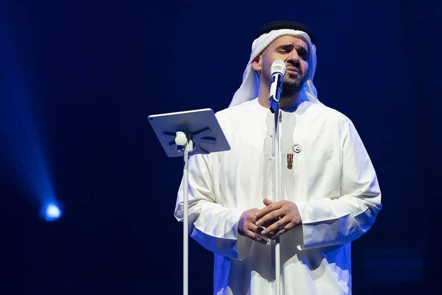 حسين الجسمى فى حفل أبو ظبى  (4)