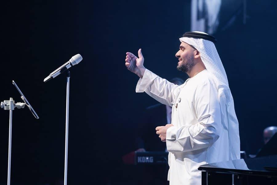 حسين الجسمى فى حفل أبو ظبى  (7)