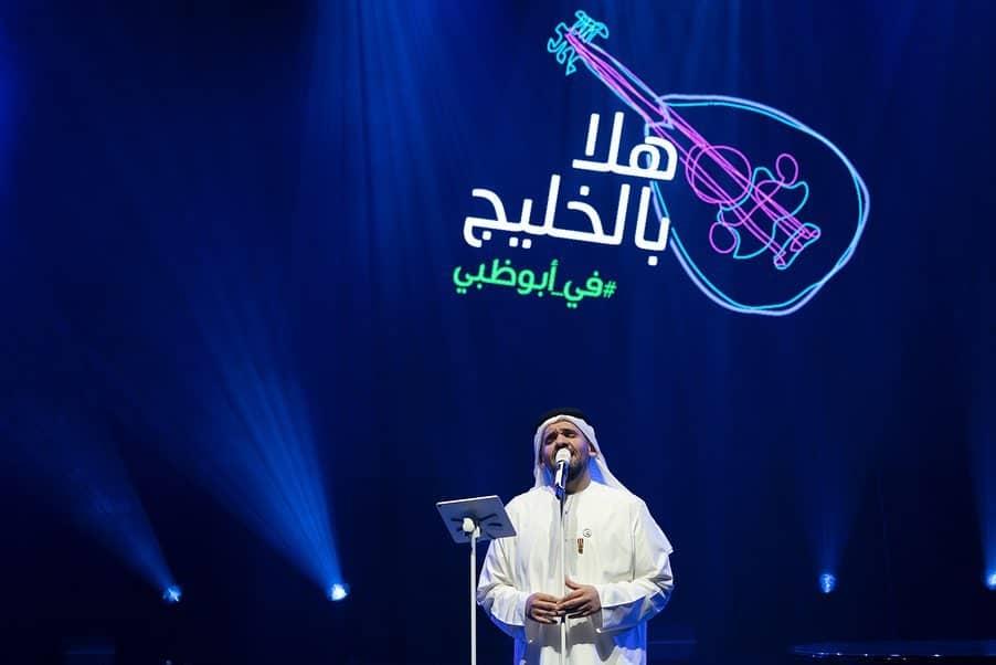 حسين الجسمى فى حفل أبو ظبى  (3)