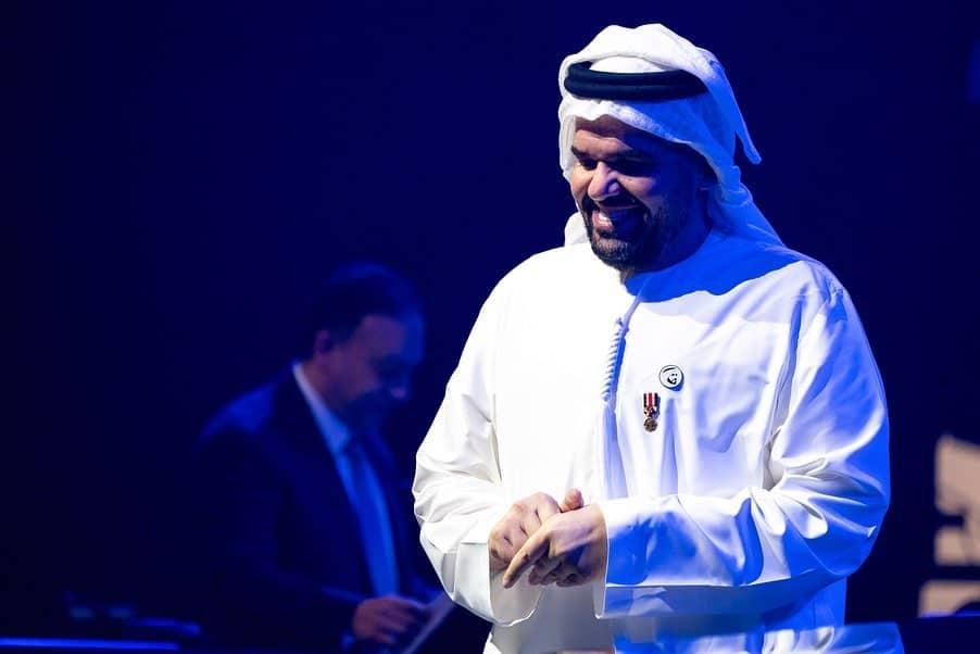 حسين الجسمى فى حفل أبو ظبى  (6)