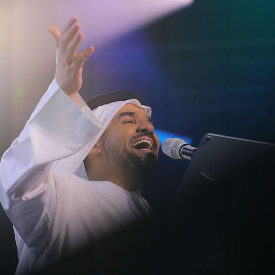 حسين الجسمى فى حفل أبو ظبى  (5)