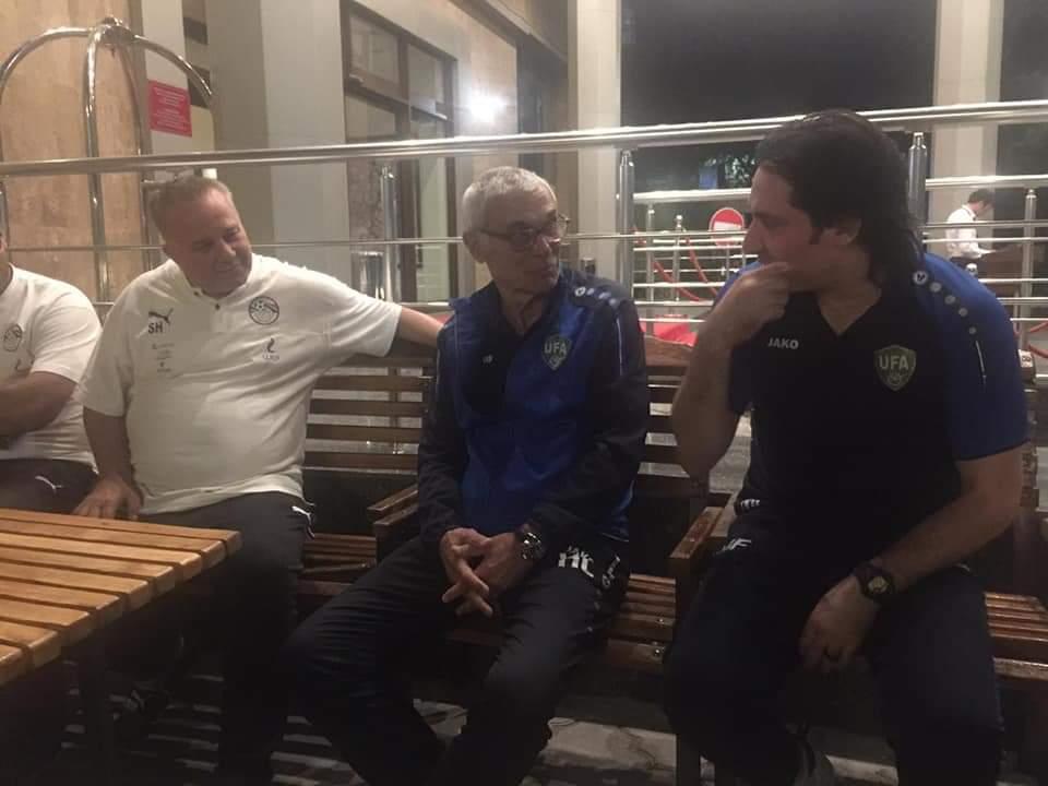 هيكتور كوبر يزور مران المنتخب الأوليمبي (2)