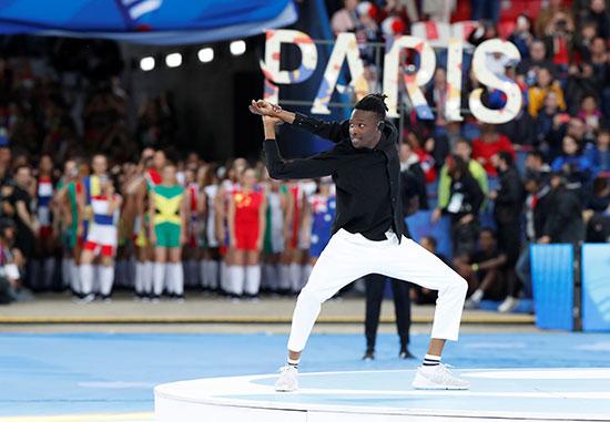 حفل افتتاح كأس العالم فى فرنسا
