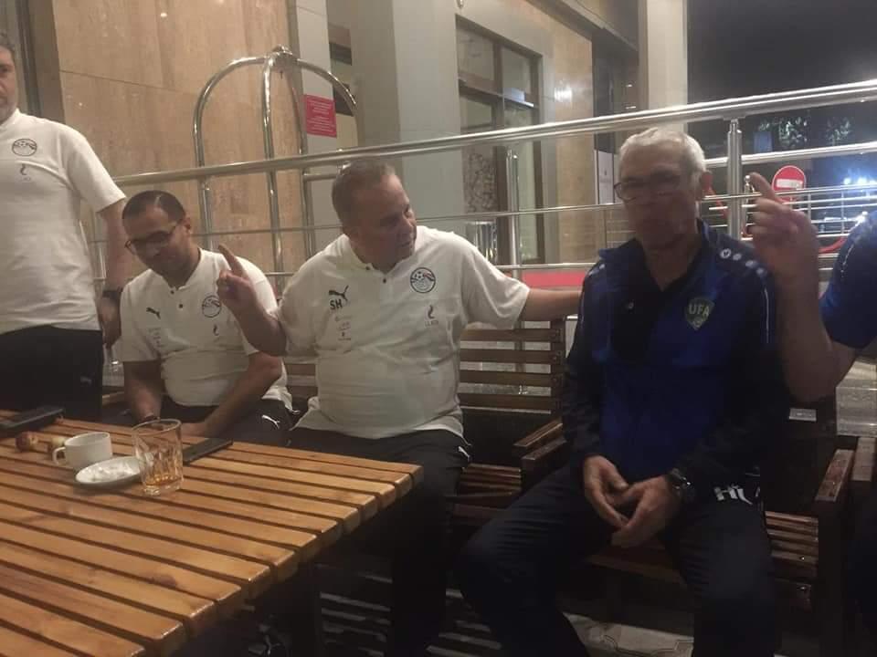 هيكتور كوبر يزور مران المنتخب الأوليمبي (1)