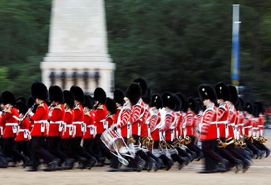 قوات بريطانية مشاركة فى العرض