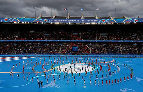حفل افتتاح كأس العالم للسيدات